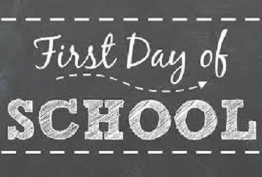 Opening Day For Students - Thurs., Sept. 6th